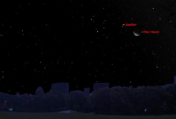 Jupiter and the Moon Shine Together Early Saturday: Where to Look