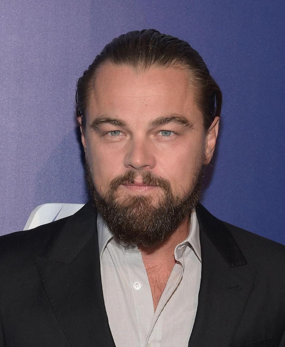 <p>Back in 2014, DiCaprio grew out a bushy beard and a man bun, and fans had no idea why the actor was looking so straggly. It was later revealed that the actor was working on his Oscar-winning project <em>The Revenant </em>and suddenly everything made sense. </p>