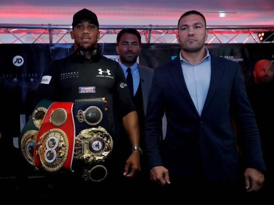 Pulev was due to fight Joshua in 2017 (Reuters)