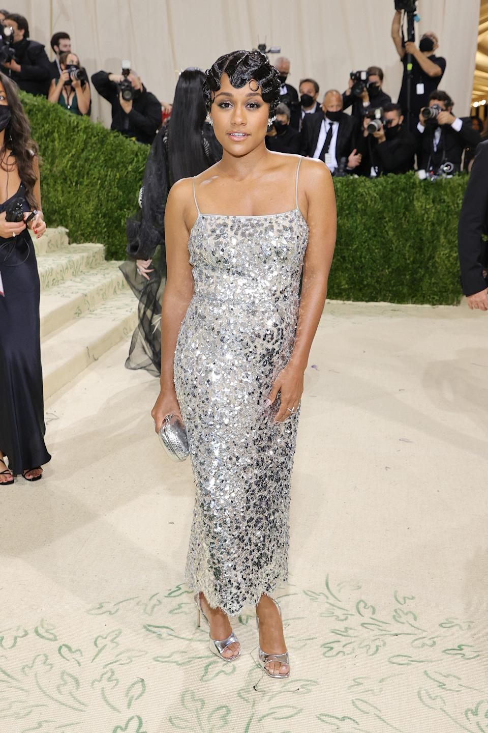"""<h1 class=""""title"""">Ariana DeBose, The 2021 Met Gala Celebrating In America: A Lexicon Of Fashion - Arrivals</h1><cite class=""""credit"""">Getty</cite>"""