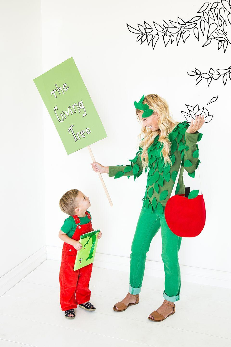 """<p>Halloween is sweeter with your little one this year. Celebrate <br>as <em><a href=""""https://thehousethatlarsbuilt.com/2015/10/the-giving-tree-parent-and-child-costumes.html"""" rel=""""nofollow noopener"""" target=""""_blank"""" data-ylk=""""slk:The"""" class=""""link rapid-noclick-resp"""">The</a> Giving Tree</em> with a Shel Silverstein-inspired costume.<br></p>"""
