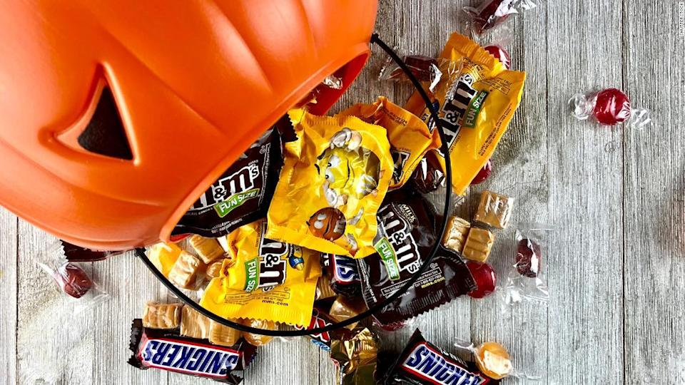 """<p>There is still plenty of candy to eat this Halloween, even if doctors from Northwestern University Feinberg School of Medicine advise we stay indoors. </p><div class=""""cnn--image__credit""""><em><small>Credit: Shutterstock / Shutterstock</small></em></div>"""