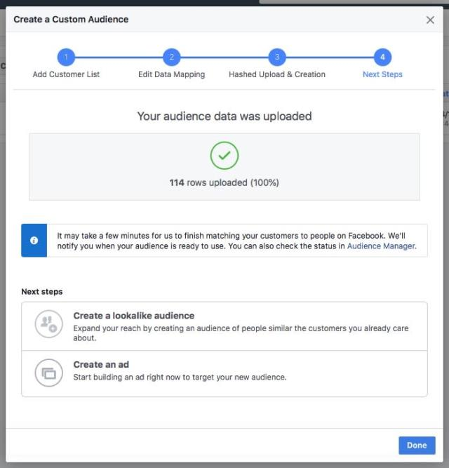 Facebook allows advertisers to target specific users, but only if they have the users' permission.