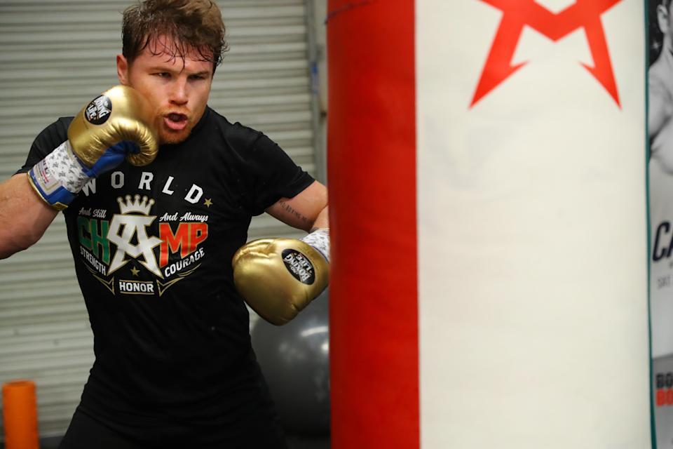 Canelo Alvarez's endurance will play an important role in his rematch vs. Gennady Golovkin, said one expert Yahoo Sports spoke to about the fight. (Getty Images)