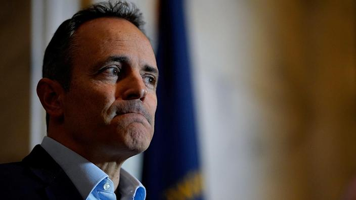 Former Kentucky Gov. Matt Bevin. (Photo: Bryan Woolston/Reuters)