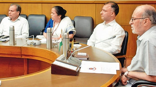 The Lieutenant Governor (L-G) of Delhi Anil Baijal on Tuesday advised senior police officers to augment patrolling during night hours.
