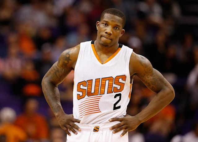 "<a class=""link rapid-noclick-resp"" href=""/nba/players/4749/"" data-ylk=""slk:Eric Bledsoe"">Eric Bledsoe</a> averaged 15.7 points and three assists in three games this season. (AP)"