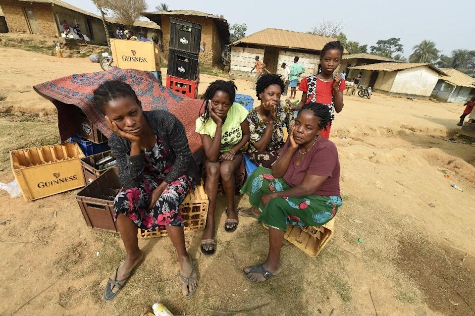 Violence has forced tens of thousands of anglophone Cameroonians away from their homes (AFP Photo/PIUS UTOMI EKPEI)