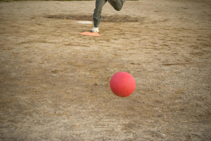 A dispute over an umpire's call in a kickball game has led to a lawsuit. (Getty Images)