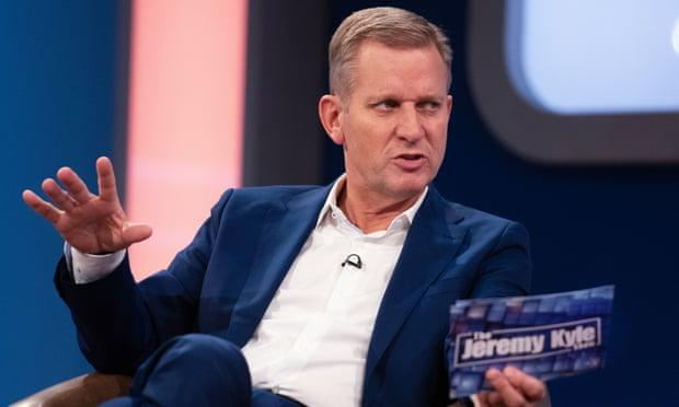The Jeremy Kyle Show offered guests the chance to resolve family disputes with free lie detector tests (Credit: ITV)