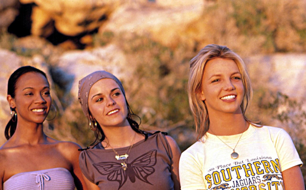 "Britney Spears in ""Crossroads""  She was not a girl, not yet a movie star. Given its disastrous reputation, it's amazing to recall that Crossroads actually grossed $37 million in America, or about three times what Mariah Carey's equally ill-remembered Glitter did. But its effect on her reputation was so toxic (sorry) that she hasn't starred in a film in the 11 years since. Time magazine named the drama Shonda Rhimes one of the 10 worst chick flicks of all time.  But that girl power—in a film about some gals taking a cross-country drive—did work out okay in helping establish careers for some of the other people on the project, like costar Zoe Saldana and screenwriter Shonda Rhimes. Anyway, Spears didn't come away empty-handed from her short-lived feature film career: she won Golden Raspberries for both Worst Actress and Worst Song (""Not a Girl. Not Yet a Woman"")."