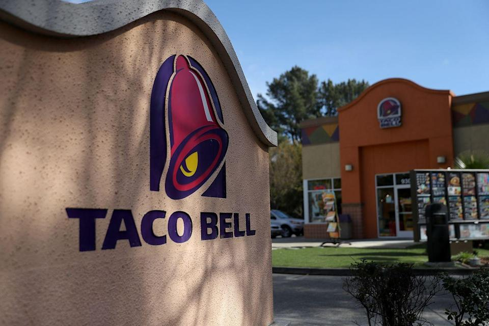 <p>Hmm, is that a hangover you've got over there? Might we suggest a quick trip to the Taco Bell nearest to you? That should help. </p>