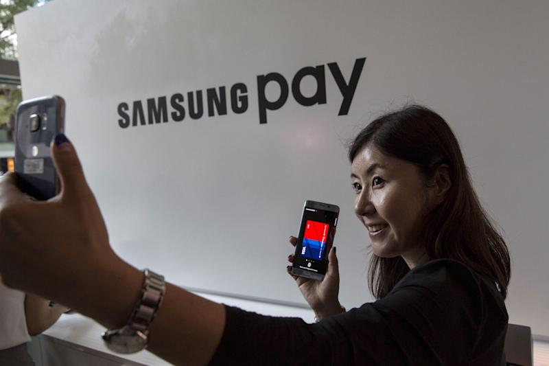 Samsung is reportedly integrating its crypto wallet to Samsung Pay, its popular wallet application. | Source: REUTERS/Andrew Kelly