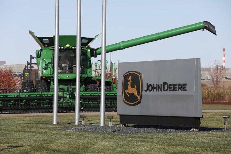 John Deere's Harvester Works facility is seen in East Moline