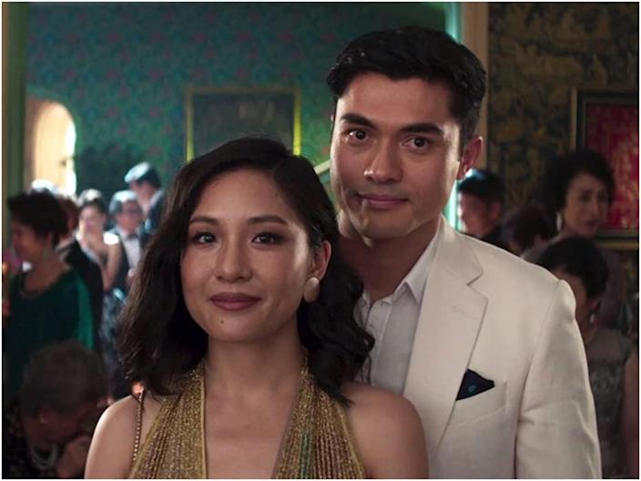 Constance Wu and Henry Golding