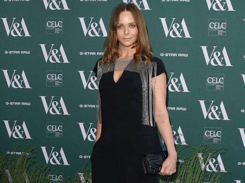 wholesale dealer 0eb6c ecfb7 Stella McCartney launches vegan Stan Smith sneakers with ...