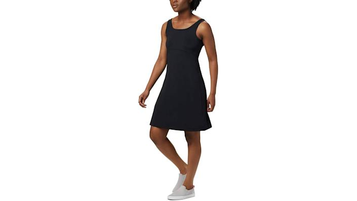 This daytime version of the little black dress, $50, looks sweet with sneakers. (Photo: Amazon)