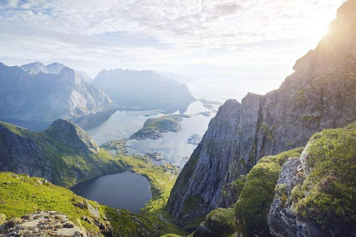 """<p><a class=""""link rapid-noclick-resp"""" href=""""https://www.countrylivingholidays.com/tours/arctic-rail"""" rel=""""nofollow noopener"""" target=""""_blank"""" data-ylk=""""slk:SEE THE LOFOTEN ISLANDS ON AN ARCTIC RAIL"""">SEE THE LOFOTEN ISLANDS ON AN ARCTIC RAIL</a></p>"""