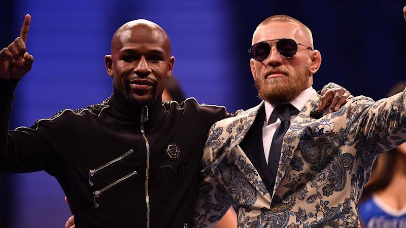 Could fight fans see a Mayweather-McGregor rematch in the octagon? Pic: Getty