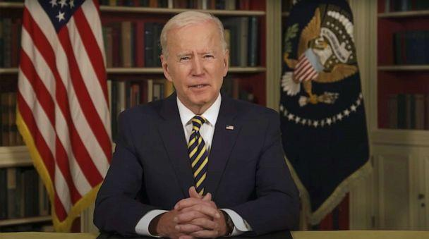 PHOTO: In this screen grab taken from a video, President Joe Biden speaks about World World One in Washington D.C. (World War 1 Centennial Commission/YouTube)