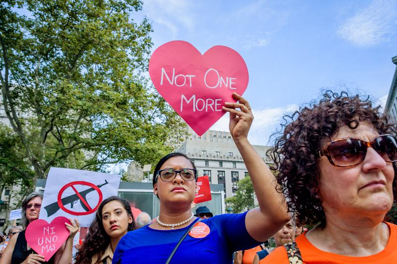 Moms Demand Action hosted a Recess Rally and community