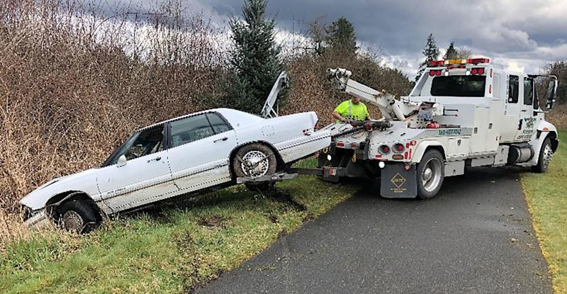A Washington man arrested Sunday after a high-speed chase on Interstate 5 claimed he was teaching his dog to drive, authorities said. (Photo: Washington State Patrol)