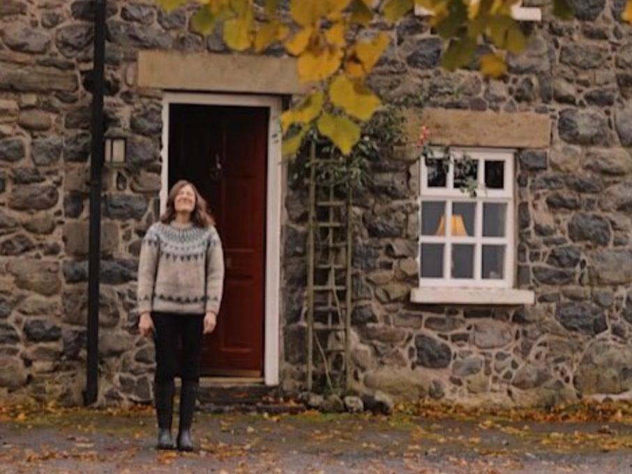 Jo Davidson's cottage was a far cry from Gill Biggeloe's Witness Protection bedsit (BBC One)