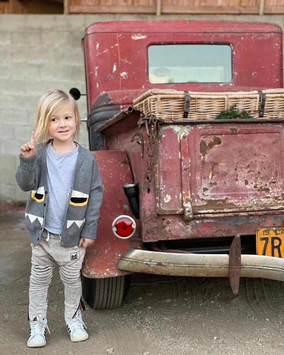 "<p>Tori Spelling and Dean McDermott's son <a href=""https://people.com/parents/tori-spelling-dean-mcdermott-welcome-son-beau-dean/"" rel=""nofollow noopener"" target=""_blank"" data-ylk=""slk:Beau Dean"" class=""link rapid-noclick-resp"">Beau Dean</a> turned 4 on March 2.</p>"