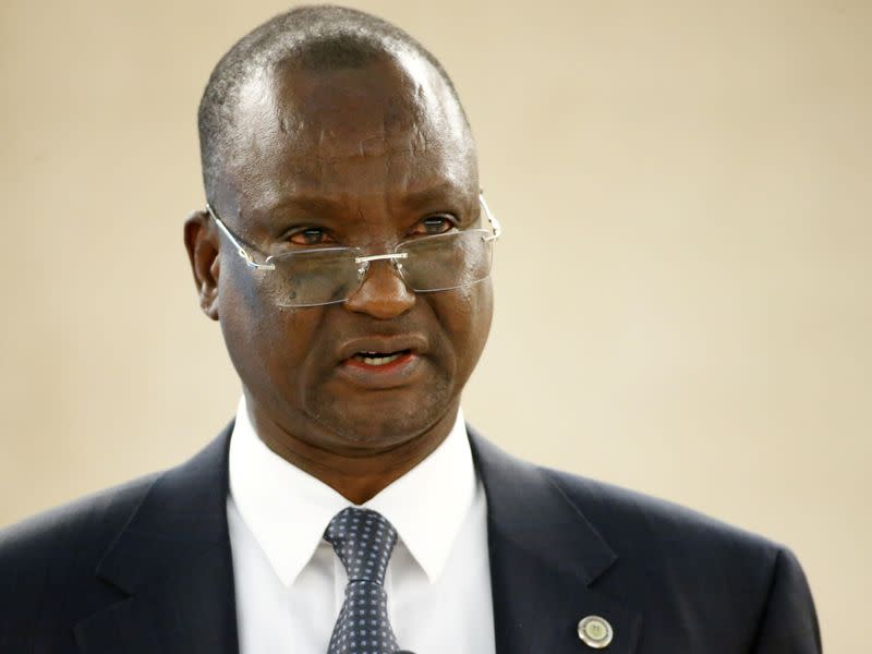 FILE PHOTO: Gai, First Vice President of South Sudan attends the Human Rights Council in Geneva
