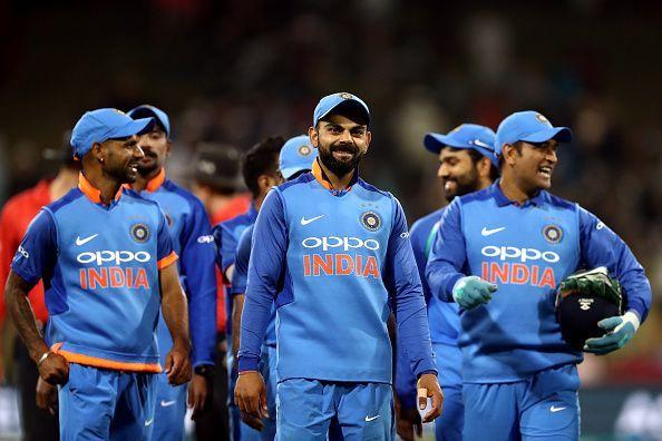 India became the third team after NZ and Australia to submit their list
