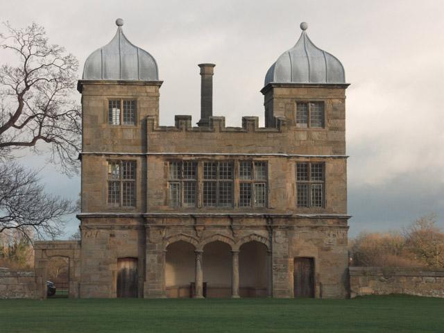 """<div class=""""caption-credit""""> Photo by: geograph.org.uk</div><div class=""""caption-title""""></div>The Morrow Royal Pavilion was inspired by another stone landmark: The Swarkestone Hall Pavilion in Derbyshire, England. That 17th-century structure was made famous on this side of the pond after the Rolling Stones used it as a backdrop for their 1968 """"Beggar's Banquet"""" album and their compilation recording """"Hot Rocks 1964-1971."""""""