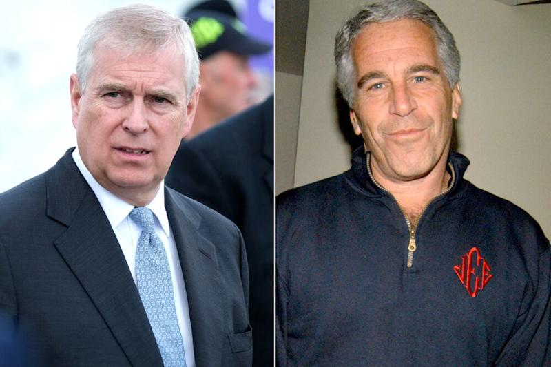 Prince Andrew and Jeffrey Epstein | Ian Forsyth/Getty Images; Neil Rasmus/Patrick McMullan