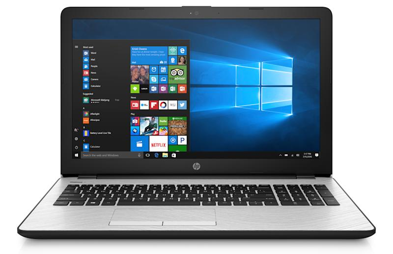 The HD 15 is the most powerful laptop in this roundup. (Photo: Walmart)