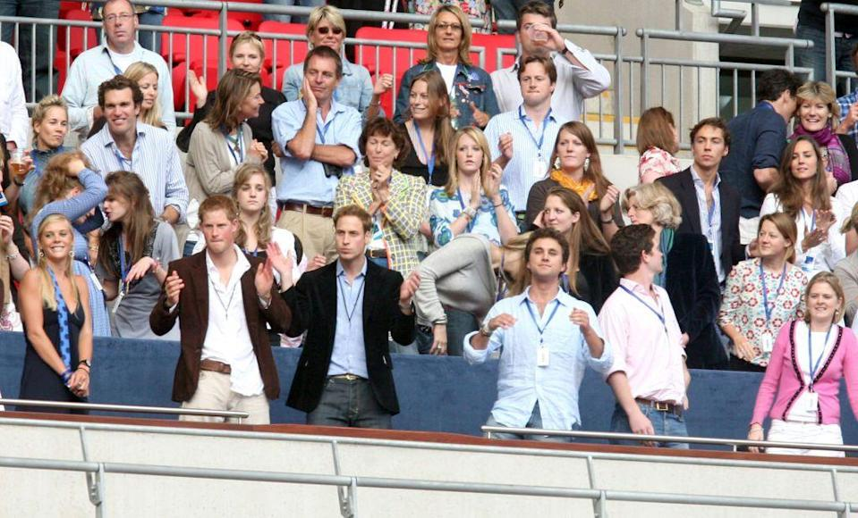 <p>Kate and William didn't stay apart for long. A few months after the news broke, the couple reconciled. Kate was spotted at a Princess Diana tribute concert with her family, sitting just a few rows behind William (you can see Kate in the upper righthand corner and William in the lower lefthand corner). <br></p>