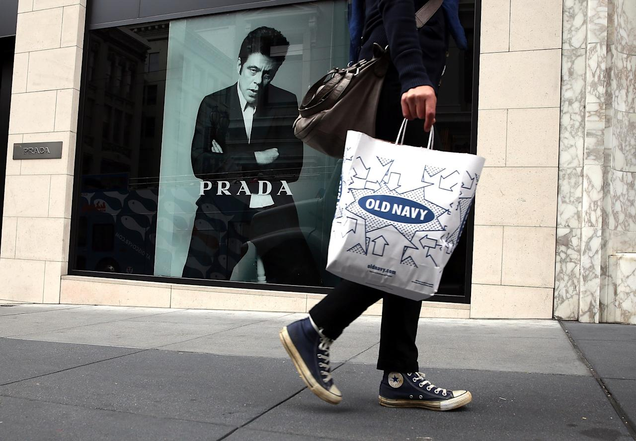 Millennials top 20 favourite brands 20 old navy photo by justin sullivangetty sciox Images