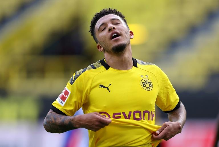 Jadon Sancho: Borussia Dortmund forward fined for home haircut picture