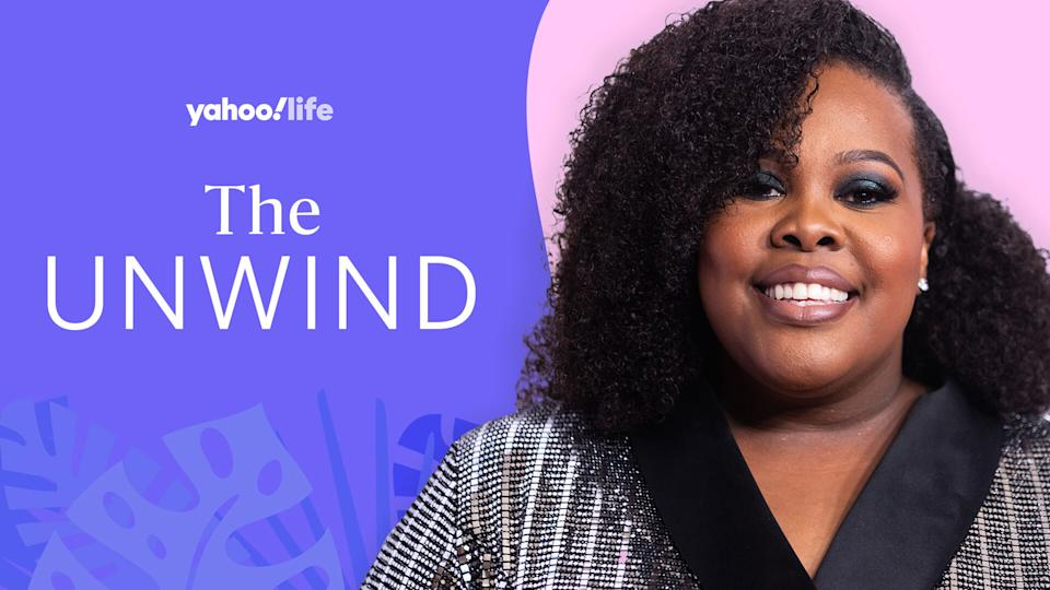 Amber Riley opens up about self-care. (Photo: Getty Images; designed by Quinn Lemmers)