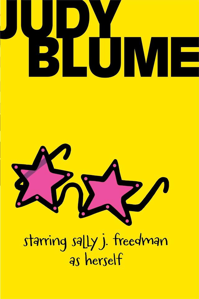 """<p>On her <a href=""""http://www.judyblume.com/books/middle/sally.php"""" target=""""_blank"""" class=""""ga-track"""" data-ga-category=""""Related"""" data-ga-label=""""http://www.judyblume.com/books/middle/sally.php"""" data-ga-action=""""In-Line Links"""">official website</a>, Blume calls <a href=""""https://www.popsugar.com/buy?url=https%3A%2F%2Fwww.amazon.com%2FStarring-Sally-J-Freedman-Herself%2Fdp%2F0440482534&p_name=%3Cstrong%3EStarring%20Sally%20J.%20Freedman%20as%20Herself%3C%2Fstrong%3E&retailer=amazon.com&evar1=buzz%3Aus&evar9=46537870&evar98=https%3A%2F%2Fwww.popsugar.com%2Fphoto-gallery%2F46537870%2Fimage%2F46537871%2FStarring-Sally-J-Freedman-as-Herself&list1=books%2Cjudy%20blume&prop13=api&pdata=1"""" rel=""""nofollow"""" data-shoppable-link=""""1"""" target=""""_blank"""" class=""""ga-track"""" data-ga-category=""""Related"""" data-ga-label=""""https://www.amazon.com/Starring-Sally-J-Freedman-Herself/dp/0440482534"""" data-ga-action=""""In-Line Links""""><strong>Starring Sally J. Freedman as Herself</strong></a> her """"most autobiographical novel,"""" and it shows in the vibrancy of Sally's world. Sally's family moves to Miami Beach in the late 1940s, just as she's starting fifth grade, and in between nursing a crush on the cute boy in class and adjusting to her new surroundings, the young protagonist is plagued by fears that another war could be on the horizon.</p>"""