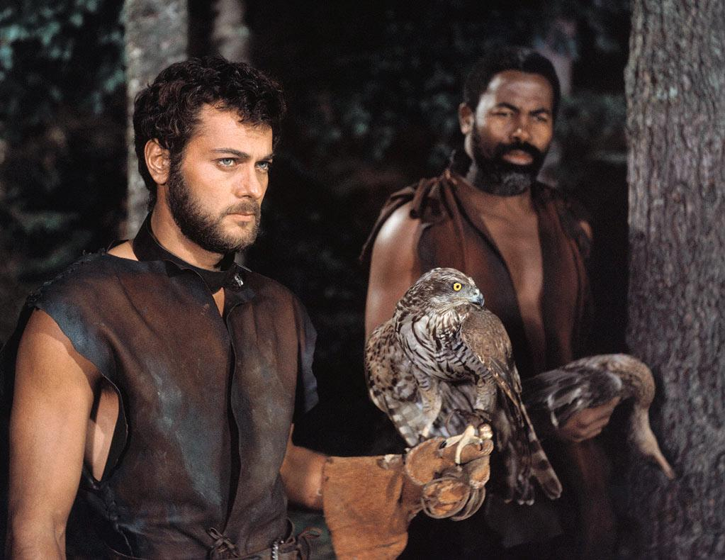 """In another costumed tale, Curtis donned a leather tunic and headed for the fjords along with <a href=""""http://movies.yahoo.com/movie/contributor/1808764336""""> Kirk Douglas</a> and <a href=""""http://movies.yahoo.com/movie/contributor/1800019015"""">Janet Leigh</a> in this massive box office hit."""
