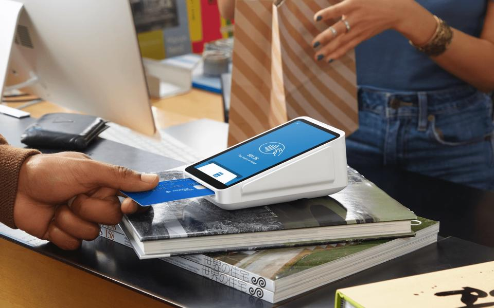 Square's new $399 device hopes to capture a tranche of new business, targeting the million-plus sellers across the U.S. that use traditional credit card terminals. (Square)Square's new $399 device hopes to capture a tranche of new business, targeting the million-plus sellers across the U.S. that use traditional credit card terminals. (Square)