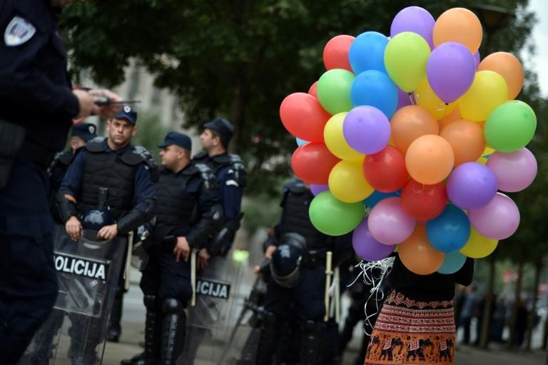 Homophobia has long been an issue in the very traditional country of Serbia, with the gay pride parade only coming back three years ago after being banned for clashes with hardline nationalists
