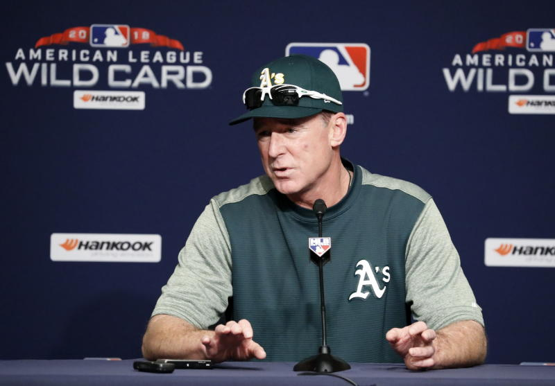 Bob Melvin of Oakland Athletics named AL Manager of the Year