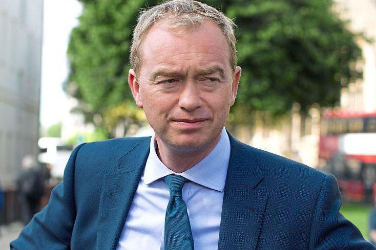 "Uncertainty: Tim Farron hesitated to say whether he thinks gay sex ""is a sin"""