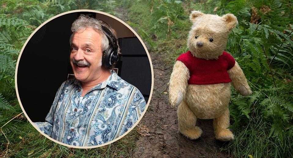 Jim Cummings is the voice of Pooh Bear in <i>Christopher Robin</i> (Disney)