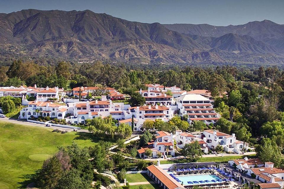 """<p><a class=""""link rapid-noclick-resp"""" href=""""https://www.ojaivalleyinn.com/"""" rel=""""nofollow noopener"""" target=""""_blank"""" data-ylk=""""slk:BOOK NOW"""">BOOK NOW</a></p><p><strong>Location:</strong> <a href=""""https://www.tripadvisor.com/Tourism-g32817-Ojai_California-Vacations.html"""" rel=""""nofollow noopener"""" target=""""_blank"""" data-ylk=""""slk:Ojai, California"""" class=""""link rapid-noclick-resp"""">Ojai, California</a> </p><p>The bohemian town of Ojai is known for its otherworldly energy, and the Ojai Valley Inn is not excluded from this enchantment. A destination hotel known for its breathtaking, wildflower-adorned estate, it's often tapped for run-of-the-mill vacations and otherworldly weddings. But this property is also worth booking for a dose of spiritual healing.</p><p> Dive into deep self-discovery with a crystal, Reiki, and chakra clearing session, or a one-on-one psychic reading. Then, nurture your inner child's yearn for play at the artist cottage and apothecary, where you can paint and design a plant terrarium or develop an essential oil blend all your own. The bohemian-luxe accommodations are set to reopen in February 2021, so mark your calendar; reservations will likely fill up fast.</p>"""