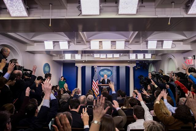 Trump vs. the Media: Proposed Law Would Make White House Do Press Interviews on Camera