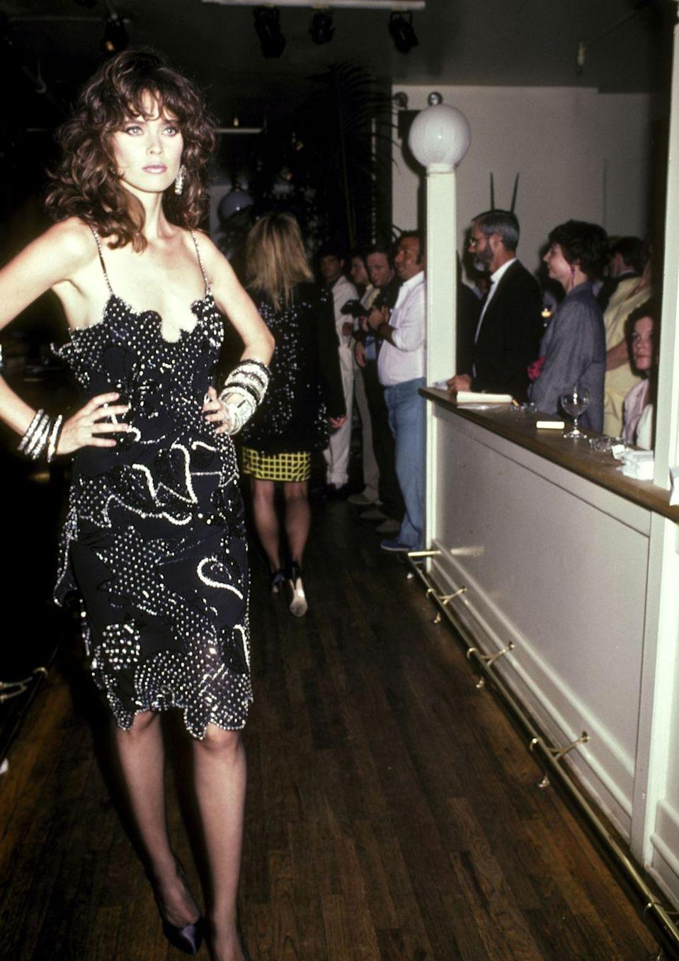 <p>Carol Alt was the original flashy girl from Flushing. The Queens native dominated the modeling world in the '80s, garnering contracts with CoverGirl, Givenchy, Hanes, Diet Pepsi, and, yes, even General Motors. She also fronted many leading magazines, including the highly coveted <em>Sports Illustrated</em> Swimsuit Issue and <em>Harper's BAZAAR</em>. By the middle part of the decade, she tried her hand at acting, appearing in a number of films and television series. </p>