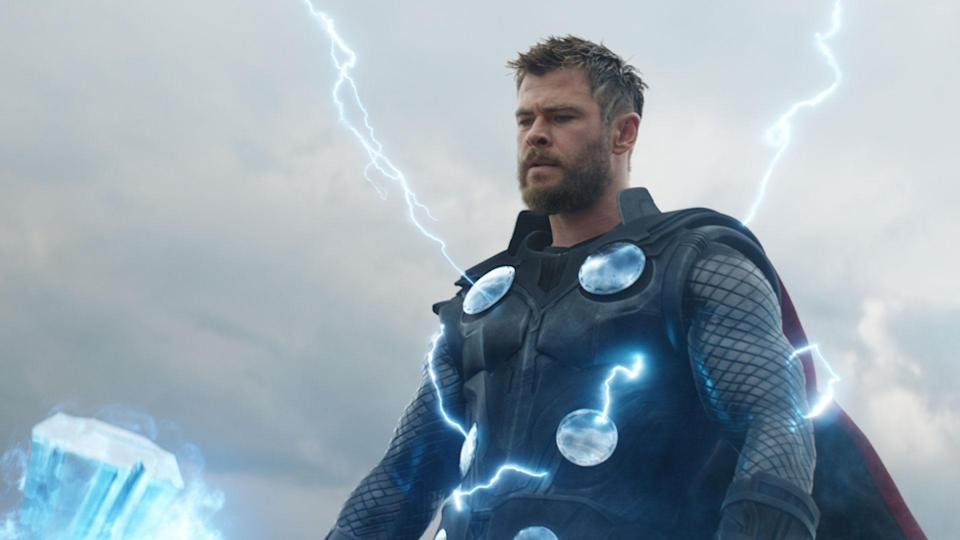 Chris Hemsworth in <i>Avengers: Endgame</i> (Disney)