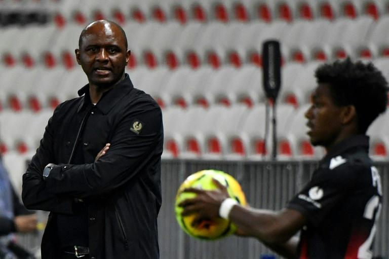 Poor results have turned up the pressure on Nice coach Patrick Vieira
