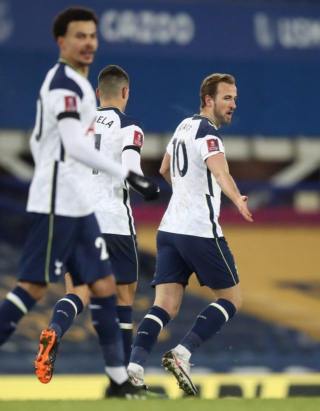 Harry Kane was on target but could not prevent Spurs losing